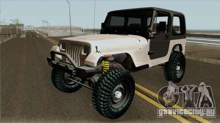 Jeep Wrangler Rustico для GTA San Andreas