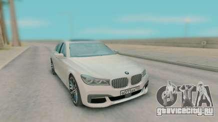 BMW 7-er G11 2015 для GTA San Andreas
