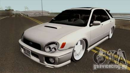 Subaru Impreza Wagon White для GTA San Andreas