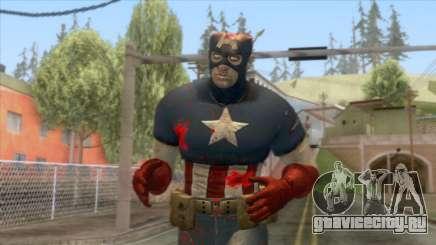 Marvel Zombies - Coronel America для GTA San Andreas