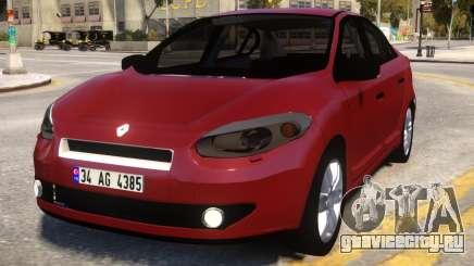 Renault Fluence Wine для GTA 4