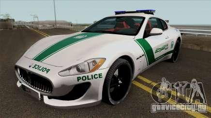 Maserati Gran Turismo Dubai Police 2013 для GTA San Andreas