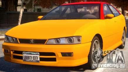 Chavos To Peugeot 406 для GTA 4