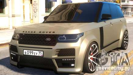 Range Rover Vogue Tuning для GTA 4