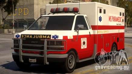 Ambulance Real New York для GTA 4