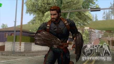 Marvel Future Fight - Capatin America для GTA San Andreas