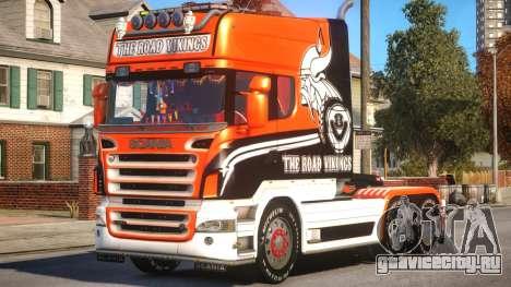 Scania R580 Longline Custom PJ17 для GTA 4