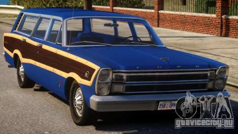 Ford Country Squire - v1.1 для GTA 4