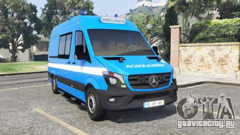 Mercedes-Benz Sprinter Ambulance [add-on] для GTA 5