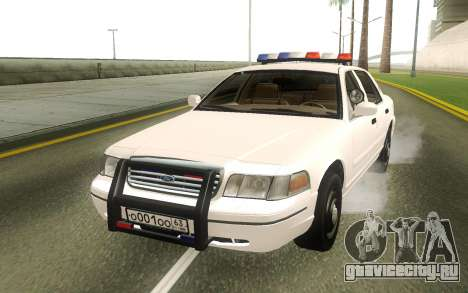 Ford Crown Victoria Police White для GTA San Andreas