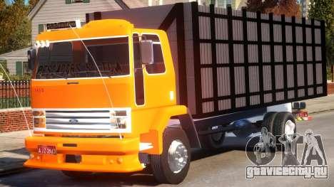 Ford Cargo 1415 Boiadeiro для GTA 4