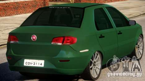 2011 Fiat Siena Sport для GTA 4