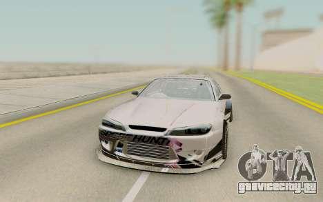 Nissan Silvia S15 Rb26dett Swap для GTA San Andreas вид сзади
