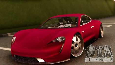 Porsche Mission E для GTA San Andreas