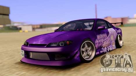Nissan Silvia S15 Purple для GTA San Andreas