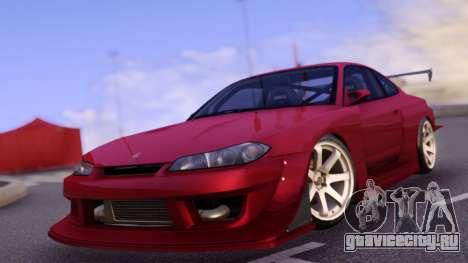 Nissan Silvia S15 Red Body Kit для GTA San Andreas