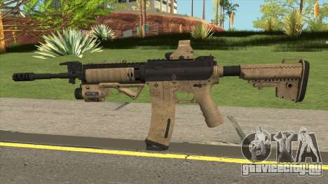 Tactical M4 Gun для GTA San Andreas
