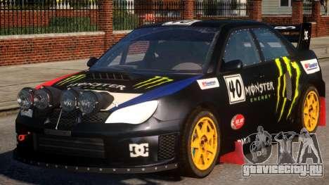 Subaru Impreza WRX V1.1 для GTA 4