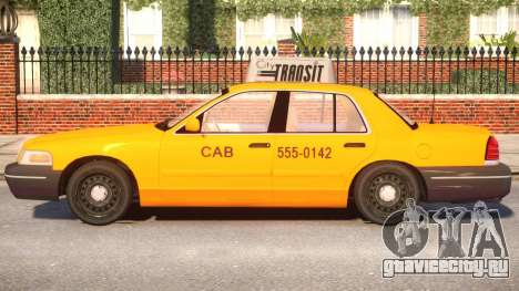 Ford Crown Victoria Taxi для GTA 4