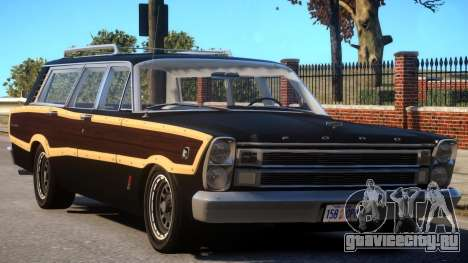 Ford Country Squire - v1.2 для GTA 4