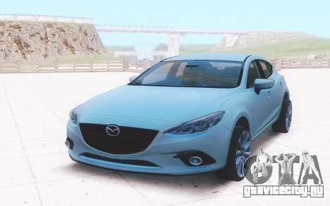Mazda 3 2016 для GTA San Andreas