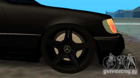 Mercedes-Benz S600 From Brigada для GTA San Andreas вид справа