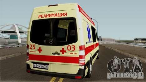 Mercedes-Benz Sprinter Ambulance для GTA San Andreas