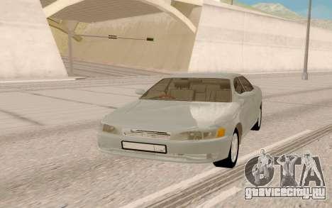Toyota Mark II JZX90 Stock для GTA San Andreas вид сзади