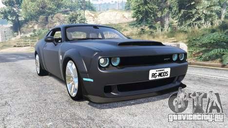 Dodge Challenger SRT Demon (LC) 2018 [replace] для GTA 5