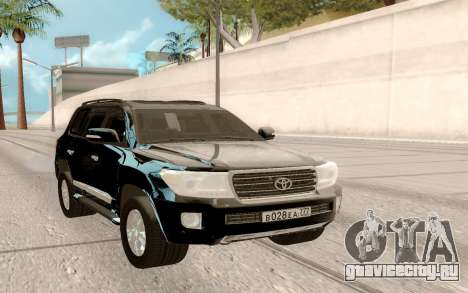 Toyota Land Cruiser 200 DARK для GTA San Andreas