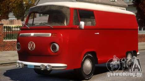 Volkswagen T2 для GTA 4