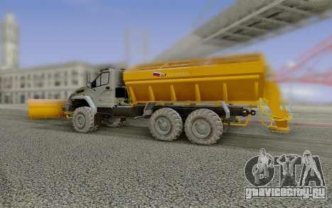 Урал NEXT 55571 для GTA San Andreas вид справа
