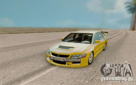 Mitsubishi Evolution 9 для GTA San Andreas