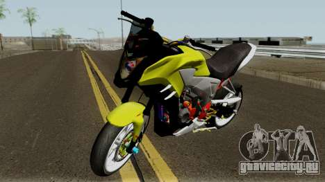 Honda CB500X Modified Street Race для GTA San Andreas