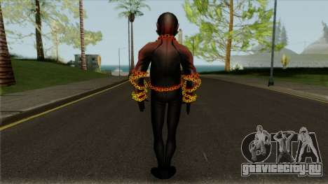 Robert Reys Ghost Rider From Avengers Academy для GTA San Andreas