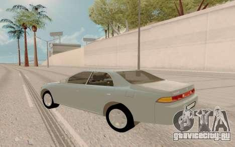 Toyota Mark II JZX90 Stock для GTA San Andreas вид слева