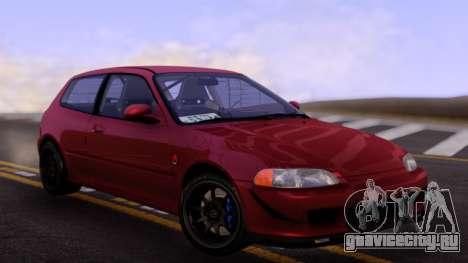 Honda Civic RHD для GTA San Andreas