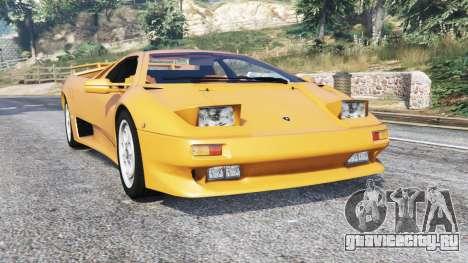 Lamborghini Diablo VT 1994 v1.5 [replace] для GTA 5