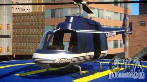 Police Helicopter New York для GTA 4