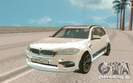 BMW X5M White для GTA San Andreas