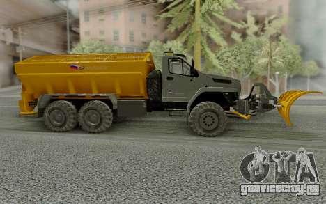 Урал NEXT 55571 для GTA San Andreas вид слева