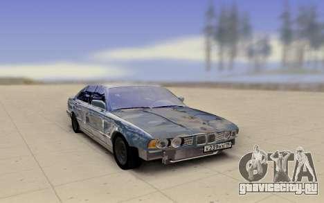 BMW E34 520 Damaged для GTA San Andreas