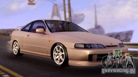 Honda Integra Type R Stock Car для GTA San Andreas