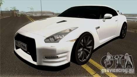 Nissan GT-R R35 2015 White для GTA San Andreas