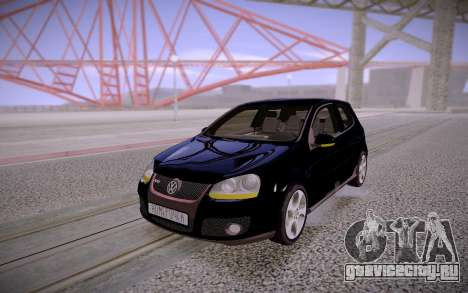 Volkswagen Golf Stock для GTA San Andreas