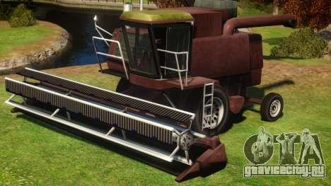Combine Harvester v1 для GTA 4