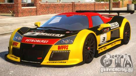 2011 Gumpert Apollo S N3 для GTA 4