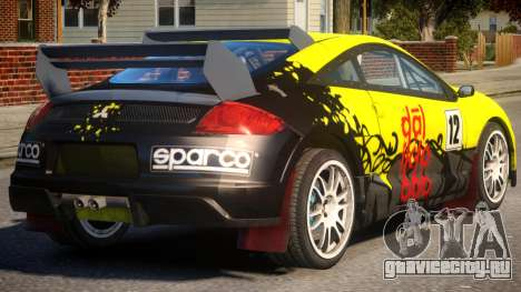 Mitsubishi Eclipse GT Drift для GTA 4
