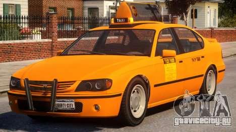 Taxi Vapid New York City для GTA 4