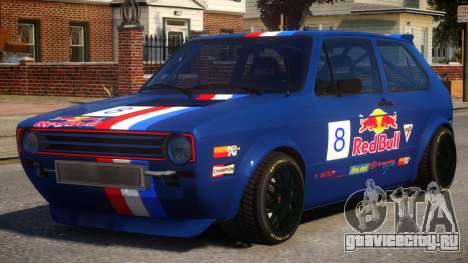 VW Golf MK1 RS4 PJ5 для GTA 4
